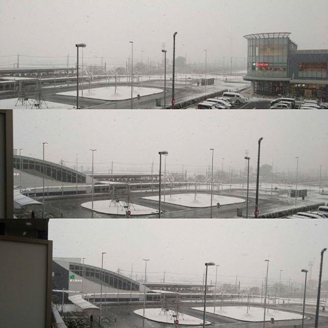 吉川市大雪警報発表中